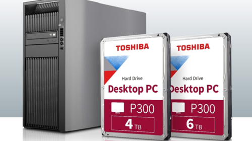 Toshiba amplia la capacità di archiviazione della serie P300 Desktop PC Hard Drive