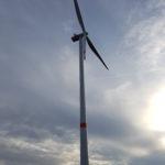 Un nuovo aerogeneratore per il parco eolico di Lübbenau
