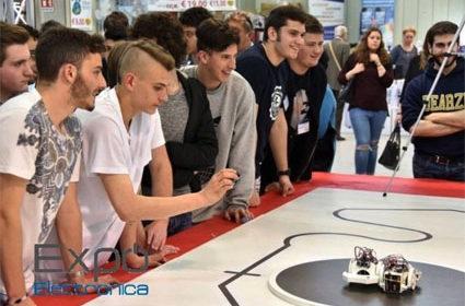 """Expo Elettronica: al via le """"Olimpiadi robotiche"""""""
