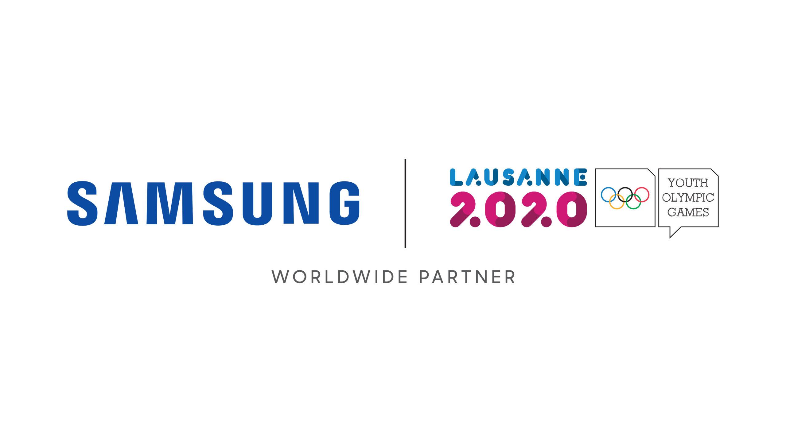 Samsung rinnova il suo impegno a favore del Movimento Olimpico e dei giovani atleti a Losanna 2020