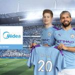 Manchester City annuncia una partnership globale con Midea