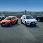 Lexus festeggia mezzo milione di SUV venduti in Europa