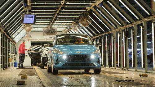 Nuova Hyundai i10: inizia la produzione per l'Europa
