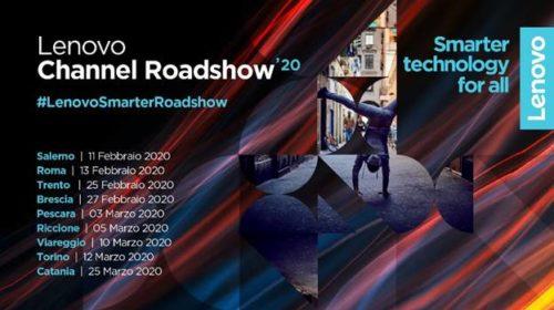 Da febbraio a marzo l'evento itinerante di Lenovo dedicato al canale