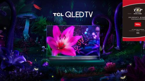 """TCL vince il premio """"8K QLED TV Gold Award"""" al CES 2020"""