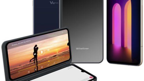 LG annuncia LG V60 ThinQ 5G