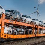 Lo scambio di camion-treni riduce significativamente le emissioni nella rete logistica di Volvo Cars