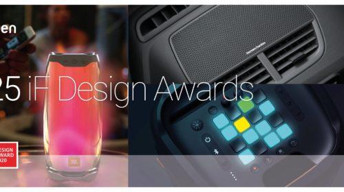 HARMAN ottiene un risultato da record agli iF World Design Awards 2020