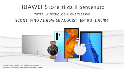 Huawei lancia il suo e-commerce
