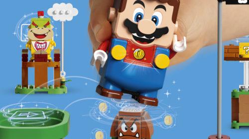LEGO Group e Nintendo annunciano l'arrivo del nuovo LEGO Super Mario