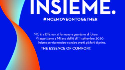 MCE – MOSTRA CONVEGNO EXPOCOMFORT riparte nell'organizzazione