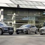 Tre nuovi modelli ibridi plug-in completano la famiglia di auto compatte Mercedes-Benz