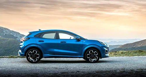 Ford Puma è la vettura ibrida più venduta in Italia nei primi due mesi del 2020