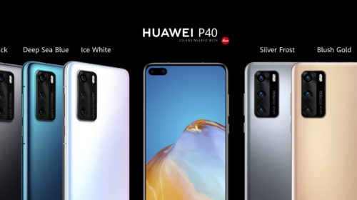 Huawei P40 Series disponibile in Italia