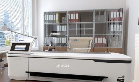 SC-T2100 è il nuovo modello della gamma SureColor Epson