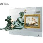 LG Electronics presenta OLED Transparent Touch