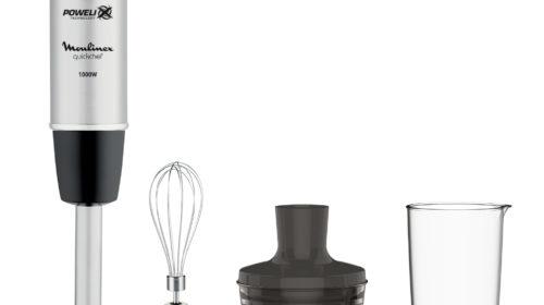 Moulinex presenta la nuova tecnologia Powelix e lancia due novità per frullare e mixare