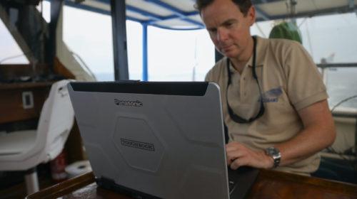Panasonic TOUGHBOOK insieme ad ACCOBAMS per lo studio dei cetacei nel Mediterraneo