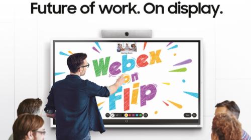Samsung e Cisco Webex trasformano il futuro degli ambienti di lavoro