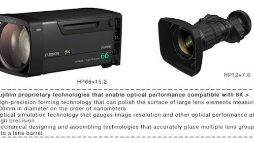 Fujifilm sviluppa 2 obiettivi di trasmissione in grado di produrre video UHD 8K dinamici