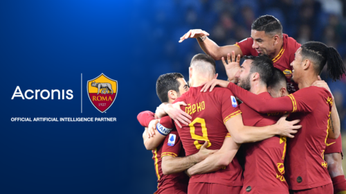 """Acronis sarà """"Official Artificial Intelligence Partner"""" dell'A.S. Roma"""