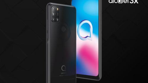 TCL presenta il nuovo smartphone Alcatel 3X e Alcatel 1SE