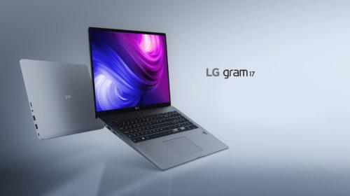 LG annuncia la disponibilità della gamma 2020 di notebook ultraleggeri della serie LG gram