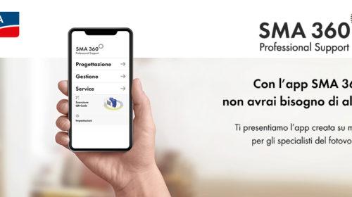 Nasce SMA 360°: la nuova app dedicata agli specialisti del fotovoltaico