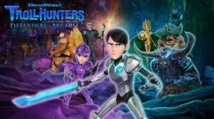 """""""DreamWorks Trollhunters I Difensori di Arcadia"""" disponibile a settembre"""