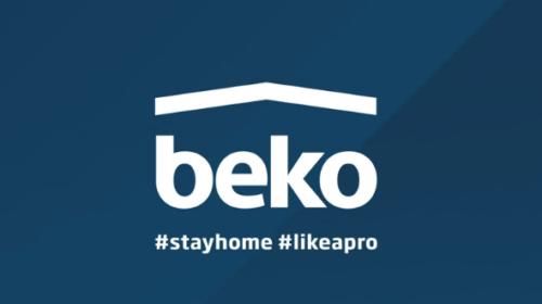 Beko lancia e presenta 'Live Like a Pro' il nuovo brand purpose e la nuova campagna valoriale #stayhome #livelikeapro