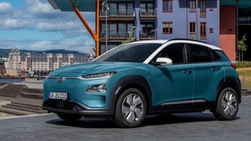 Hyundai Kona Electric premiata ai Top Gear Electric Awards