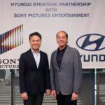 Hyundai Motor e Sony Pictures Entertainment annunciano una partnership