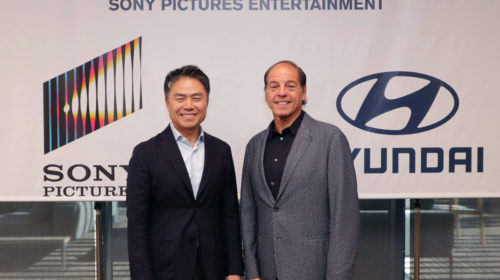 Hyundai Motor e Sony Pictures Entertainment annunciano una partnership