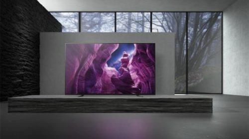 Al via le vendite dei nuovi TV OLED 4K HDR serie A8 di Sony