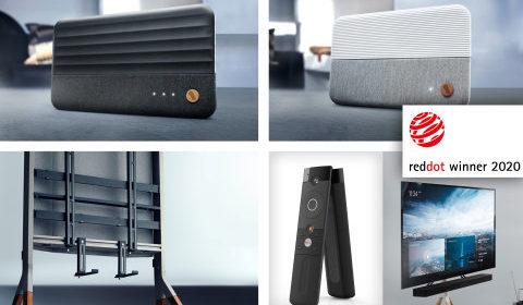 Universal Electronics vince cinque Red Dot Design Award