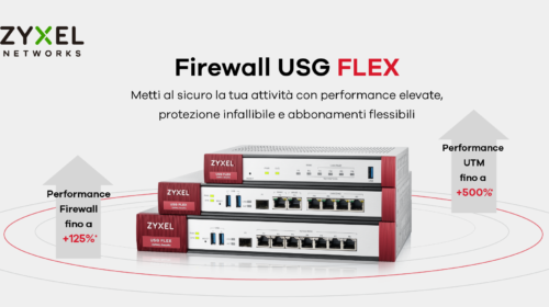 Zyxel lancia la nuova gamma firewall USG FLEX