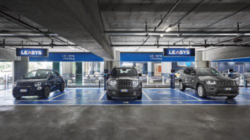 Leasys: installate le prime colonnine di ricarica rapida  al Mobility Store di Torino Caselle