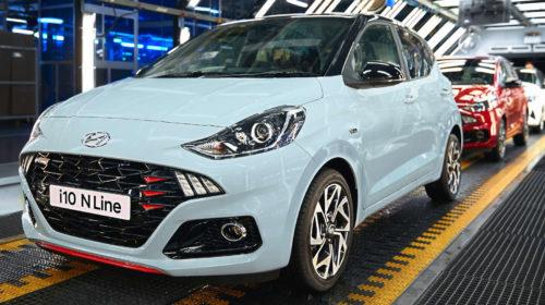 Hyundai avvia la produzione di Nuova i10 N Line in Europa