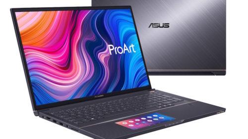 ASUS annuncia la disponibilità dei nuovi laptop ProArt StudioBook