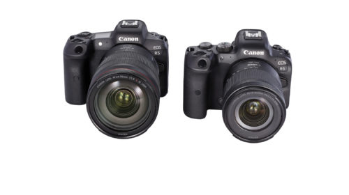 Canon annuncia le nuove EOS R5 ed EOS R6