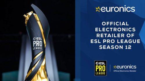 Euronics rinnova la partnership con ESL per il campionato ESL Pro League