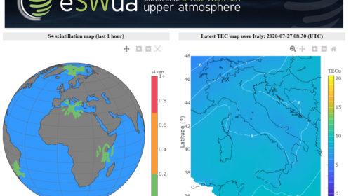 INGV: online il nuovo portale per il monitoraggio della ionosfera