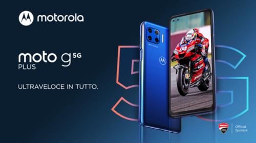 Motorola presenta moto G 5G plus