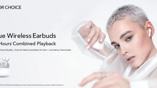 HONOR lancia HONOR CHOICE con HONOR CHOICE True Wireless Earbuds