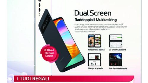 LG Velvet regala il dual screen