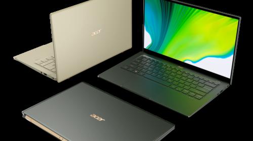 Acer annuncia la disponibilità dei nuovi notebook Swift 5 e Swift 3