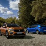 Dacia lancia la terza generazione di Sandero, Sandero Stepway e Logan