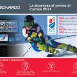 Leonardo partner tecnologico di Cortina 2021