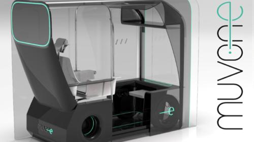 Il concept di un taxi a guida autonoma vince il New Designers Ford Award