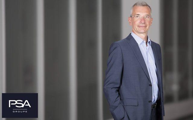 Arnaud Deboeuf nominato Direttore Industriale e della Logistica di Groupe PSA